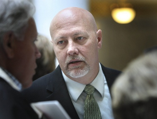 Tribune file photo Democrat Jay Seegmiller is his party's nominee in the 2nd Congressional District, facing Republican Chris Stewart in November's general election. Utah school teachers Brandt Shaw and Alan Seim are running his campaign.