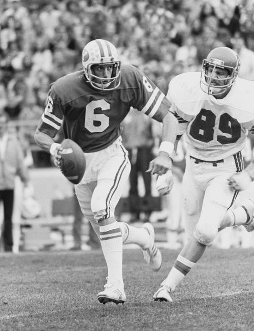 BYU quarterback Marc Wilson. Mark A. Philbrick/BYU