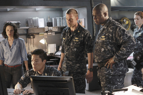 Courtesy photo Camille De Pazzis, Michael Ng, Scott Speedman and Andre Braugher star in ABC's