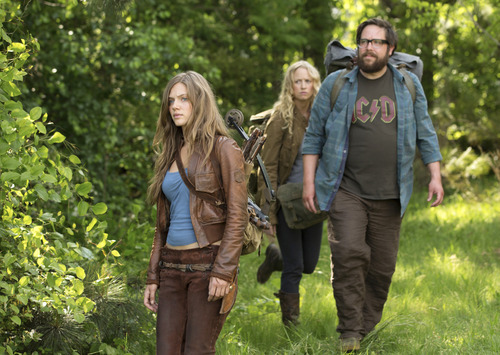 Courtesy photo Tracy Spiridakos, Anna Lise Phillips and Zak Orth star in NBC's