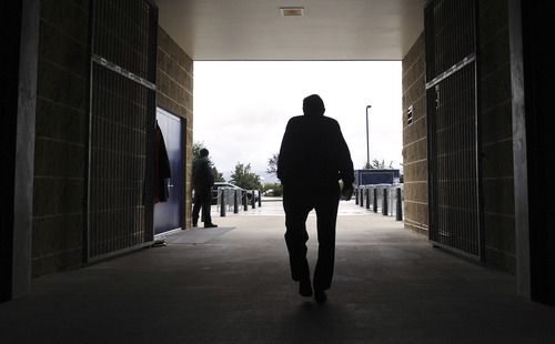 This Oct. 5, 2010 file photo shows Penn State coach Joe Paterno leaving Beaver Stadium after his weekly NCAA college football news conference in State College, Pa. College sports' governing body was expected to deal a series of heavy blows to the Nittany Lions football program on Monday, July 23, 2012, less than two weeks after a devastating report accused coach Joe Paterno and other top university officials of concealing child sex abuse allegations against a retired assistant coach for years to avoid bad publicity. (AP Photo/Pat Little, File)