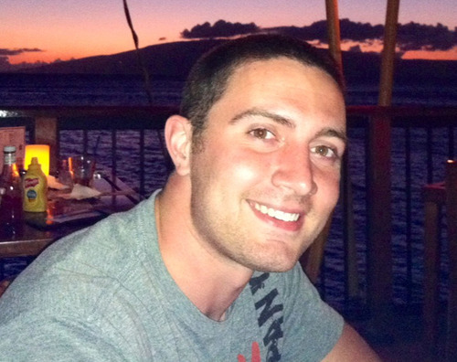 The undated photo provided by the family shows Alex Teves. Teves, 24, was one of the victims killed in the Friday, July 20, 2012 movie theater shooting in Aurora, Colo. (AP Photo/Teves Family)