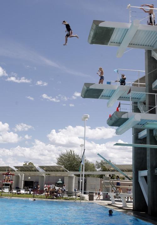 Wharton High Dives Making A Splash At Kearns Rec Center The Salt Lake Tribune