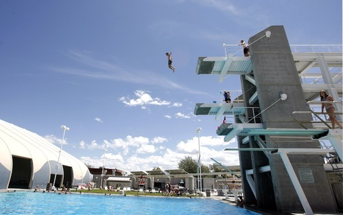 Wharton High Dives Making A Splash At Kearns Rec Center