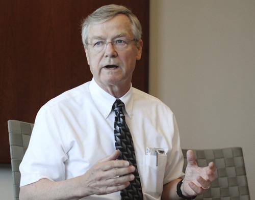 Lennie Mahler  |  The Salt Lake Tribune Common Cause CEO Bob Edgar critized the American Legislative Exchange Council as putting