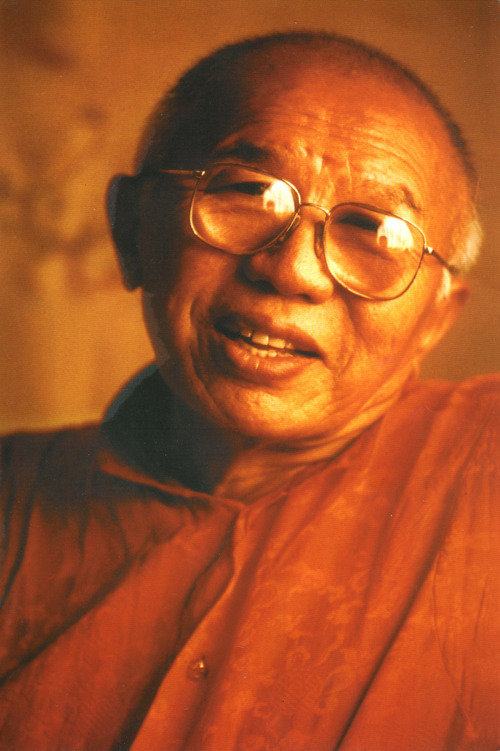 Courtesy photo  Tibetan Buddhist master Tulku Urgyen Rinpoche, who died in 1996, was a key mentor to Lama Thupten Gyaltsen Dorje, a Buddhist teacher at Urgyen Samten Ling temple in Salt Lake City.