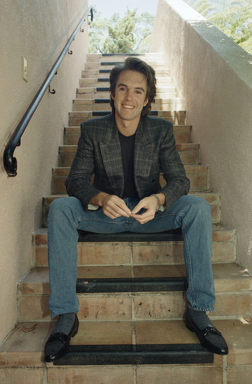 Shaun Cassidy, pausing between interviews during a visit to Los Angeles 1987 in discussing a guest appearance on ABC's
