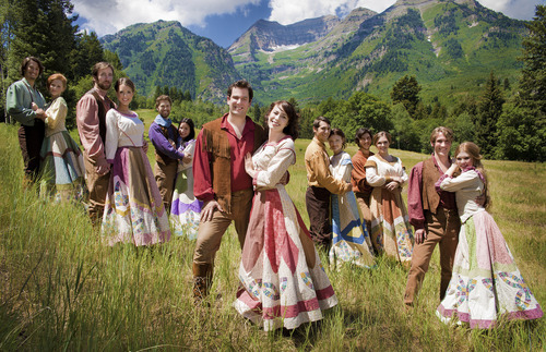 The cast of the Sundance Summer Theatre production of