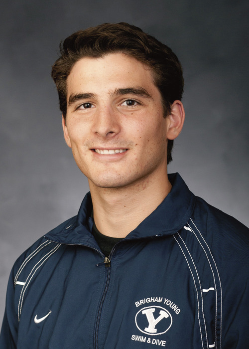 BYU swimmer Rafael Alfaro will compete in the upcoming Olympics. Courtesy Jonathan Hardy  |  BYU