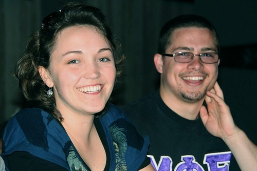 Photo Courtesy Jacqueline Rocamora  Petra Anderson and her boyfriend Austin Hogan photographed Friday July 27, 2012.