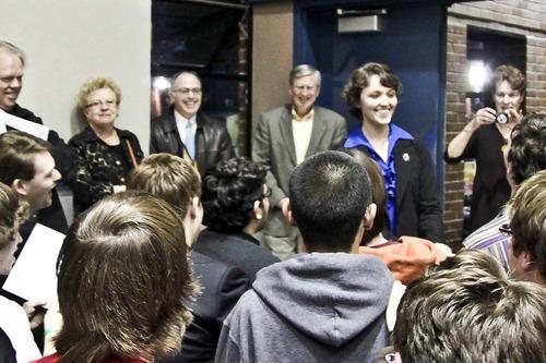 Photo Courtesy Jacqueline Rocamora  Petra Anderson photographed Sunday February 19, 2012.