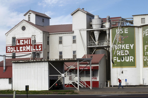 Al Hartmann  |  The Salt Lake Tribune   Lehi RollerMills an an icon in art and film on Main Street in Lehi.  The mills' future is in doubt because of government actions that has stripped the owner's ability to obtain business loans to keep it running.