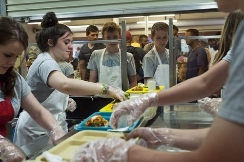 Chris Detrick | The Salt Lake Tribune Ulster Project Participants Kerrie  McGrath, Emma McGinn,