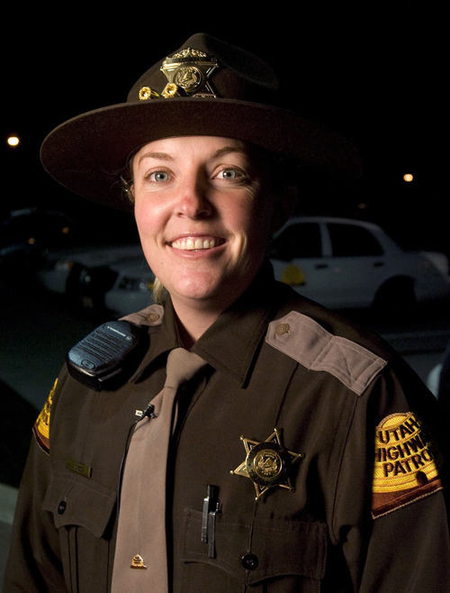 Rick Egan  |  Tribune file photo Lisa Steed was named the Utah Highway Patrol trooper of the year in 2007 for her many many DUI arrests. She was the first woman to receive this award. In court Tuesday, March 27, 2012, Steed admitted she intentionally violated the agency's policies twice during a 2010 traffic stop.