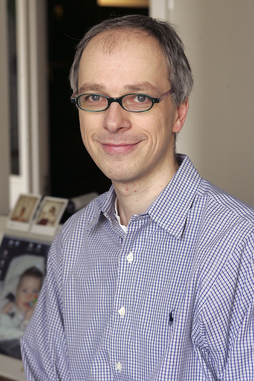 Biochemist Thomas Tuschl of Rockefeller University.  Courtesy Howard Hughes Medical Institute/Associated Press.