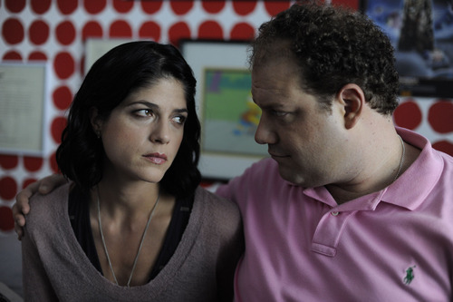 Selma Blair, left, and Jordan Gelber play an unlikely couple in Todd Solondz' odd comedy/drama
