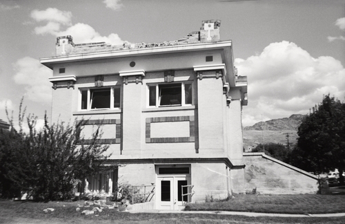 Courtesy photo | Ann Collet The main walls of the Richmond Carnegie Library (built in 1914) withstood the 1962 earthquake, but the parapet lost many of its bricks.