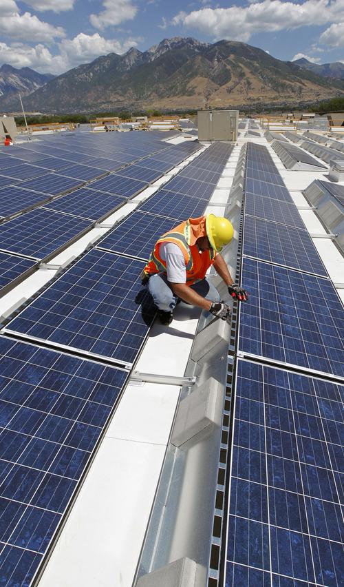 Al Hartmann | The Salt Lake Tribune Garrett Stokum, Mechanical Formean For  Rec Solar Works