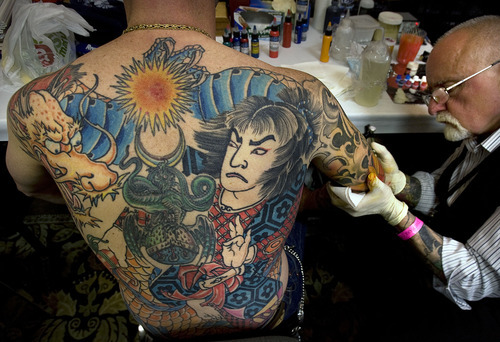 Tattoo convention wraps up in park city the salt lake for How to email a tattoo artist