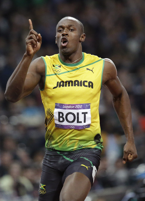 Olympics: Usain Bolt wins second straight gold in 100M ...
