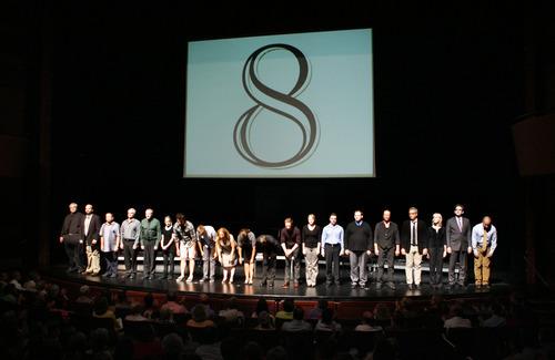 Francisco Kjolseth  |  The Salt Lake Tribune The cast of the play