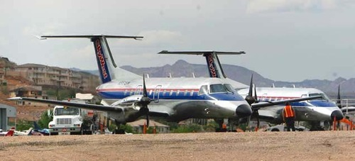 Tribune file photo SkyWest earned $17 million, or 33 cents per share, in the quarter.