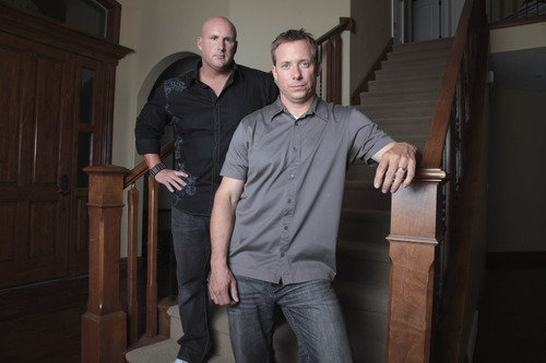 Utahns Mike Baird, left, and Doug Clark are the stars of the new Spike TV series