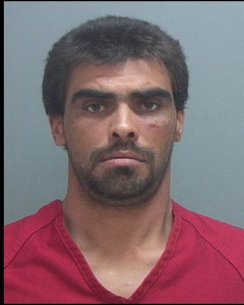 Michael Eugene Vigil, 36m accused of fatally shooting a man Saturday in Salt Lake City. Courtesy: Salt Lake County jail