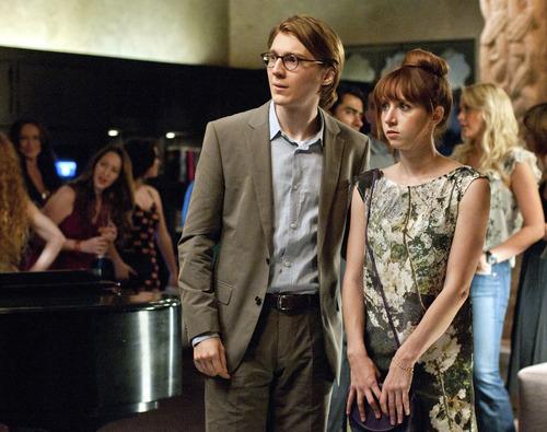 Paul Dano (left) and Zoe Kazan star in the romantic comedy