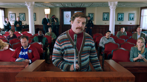 This film image released by Warner Bros. shows Zach Galifianakis as Marty Huggins in a scene from