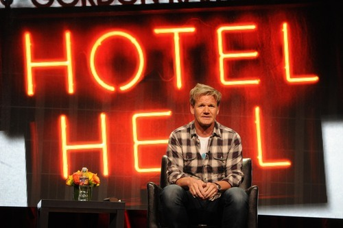 Gordon Ramsay takes questions from TV critics about his new series