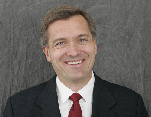 Tribune File Photo Rep. Jim Matheson, D-Utah, is running against Republican Mia Love in Utah's new 4th Congressional District.