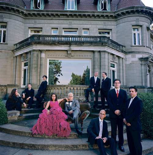 The Portland band Pink Martini.  Courtesy Autumn de Wilde