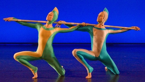 Tribune file photo Ririe Woodbury dancers perform works of modern dance pioneer Alwin Nikolais.