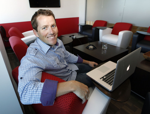 Al Hartmann     The Salt Lake Tribune   Adam Edmund is CEO of Allegiance, which is a surging company that provides gathering and analysis of data on customer and employee feedback. The company is now approaching $20 million in annual revenue.