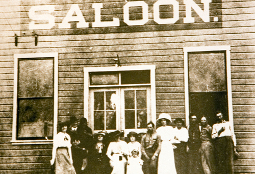 Soldier Summit Saloon, late 1800s. Courtesy of the Utah Historical Society