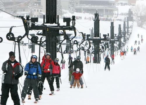 Steve Griffin  |  Tribune file photo Alta ski area on Tuesday announced a