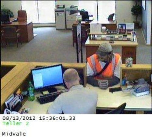 Unified Police are looking for this suspect in a Midvale credit union robbery. (UPD photo)