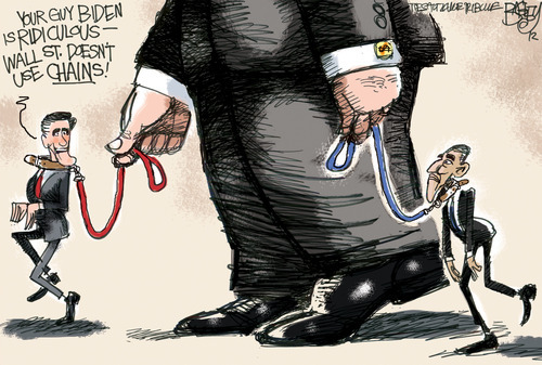 This Pat Bagley editorial cartoon appears in The Salt Lake Tribune on Thursday, Aug. 16, 2012.