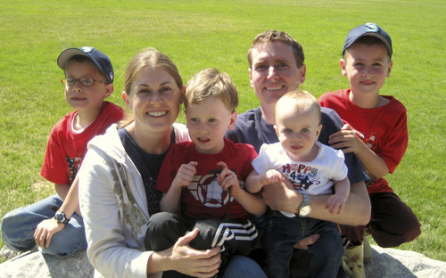Jennifer Strong and her family. Courtesy Strong Family