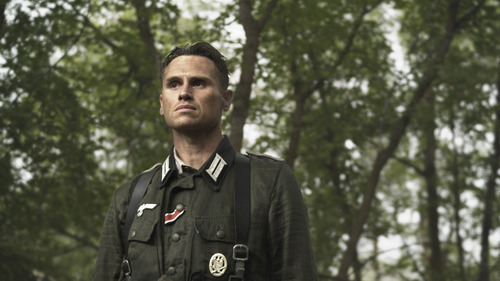 Neumann (Lincoln Hoppe) in Saints and Soldiers: Airborne Creed. Courtesy Go Films