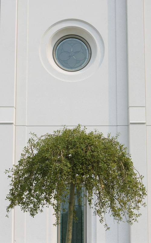 Francisco Kjolseth     The Salt Lake Tribune The Church of Jesus Christ of Latter-day Saints' 14th temple in Utah will soon open its doors to tours followed by its official dedication on Sunday, Sept. 23, 2012, in Brigham City.