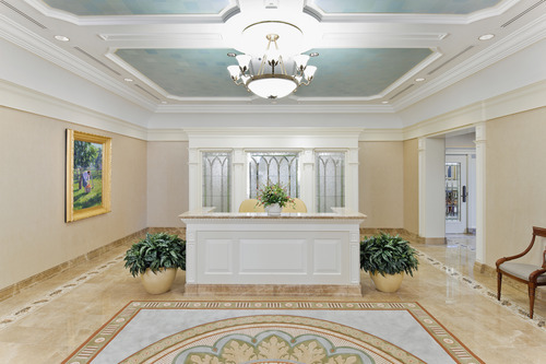 Entry into the Brigham City Utah Temple. Courtesy LDS Newsroom