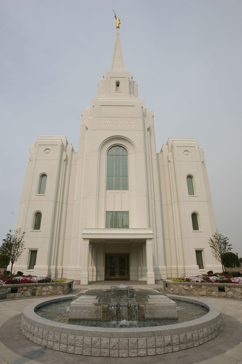 Francisco Kjolseth  |  The Salt Lake Tribune The Church of Jesus Christ of Latter-day Saints' 14th temple in Utah will soon open its doors to tours followed by the formal dedication of the Brigham City Temple on Sunday, Sept. 23, 2012.