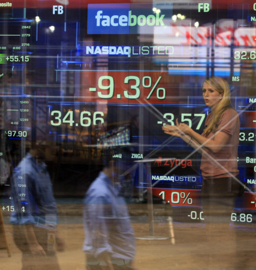 (AP Photo/Richard Drew) Facebook's stock plunged to a new low Thursday after the expiration of a ban that had prevented some early investors and insiders from dumping millions of additional shares they own in the social-networking leader. Firms ranging from Accel Partners to Goldman Sachs, Zynga CEO Mark Pincus and Facebook board members James Breyer, Peter Thiel and Reid Hoffman were among those free to sell stock they own, after the lifting of a ban known as a lock-up period.
