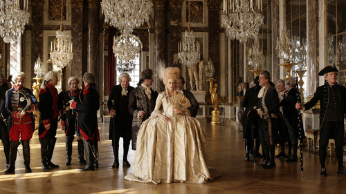 Diane Kruger (center) portrays Marie-Antoinette in the French drama