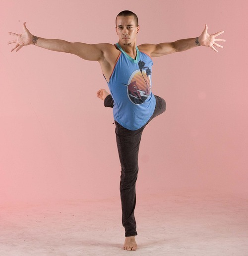 Paul Fraughton | The Salt Lake Tribune file photo Dancer Eldon Johnson in the Tribune studio in June 2010.