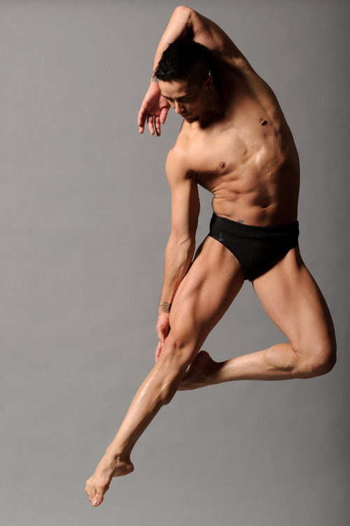 Courtesy photo  Odyssey Dance Theatre's associate artistic director Eldon Johnson in this studio shot by dance photographer Christopher Peddecord. Johnson was selected to perform in the new Ovation TV show