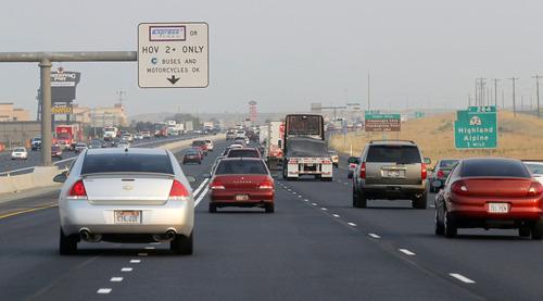 Utah carpool lane