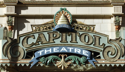 Tribune file photo The Capitol Theatre in Salt Lake City is shown in 2003.